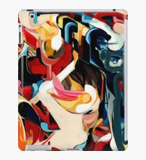 Expressive Abstract Composition painting  iPad Case/Skin