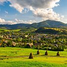 beautiful rural landscape in mountains by mike-pellinni