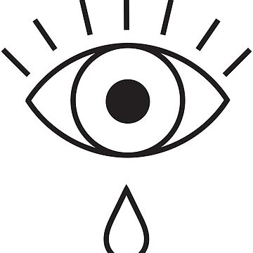 Open Eye Crying by 53JSams