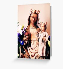 Our Lady of Colebrook Greeting Card