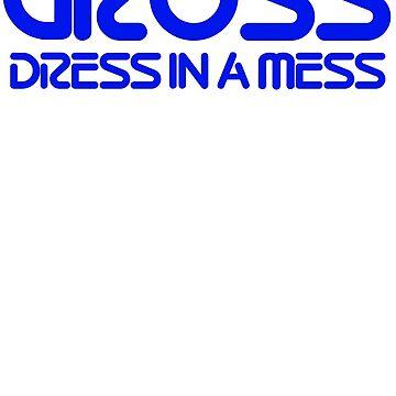 GROSS Dress in a Mess by gutterjim