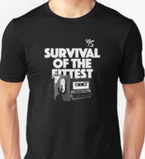 Hip Hop, 90's Rap, Survival of the Fittest Unisex T-Shirt