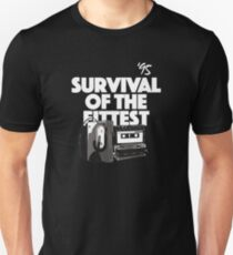 Camiseta unisex Hip Hop, rap de los 90, supervivencia del más apto