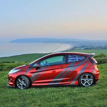 Red Fiesta at Sunset by ViczS
