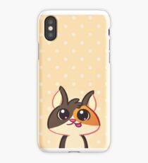 Curious Kitty Cat iPhone Case