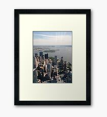 Manhattan, #Manhattan, New York, #NewYork, NYC, #NYC, New York City, #NewYorkCity  Framed Print