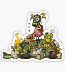 Pollution Rise Against Pollution Polluted World Sticker