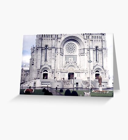 Basilica of St. Anne de Beaupre Greeting Card