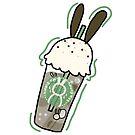 sea bunny frappuccino  by RainbowSketches