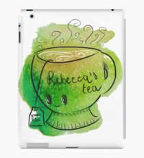 Rebecca's Green Tea - Shy cup  iPad Case/Skin