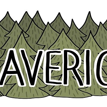 Maverick Name Sticker by maretjohnson