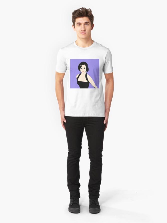 Alternate view of Elizabeth Taylor Slim Fit T-Shirt