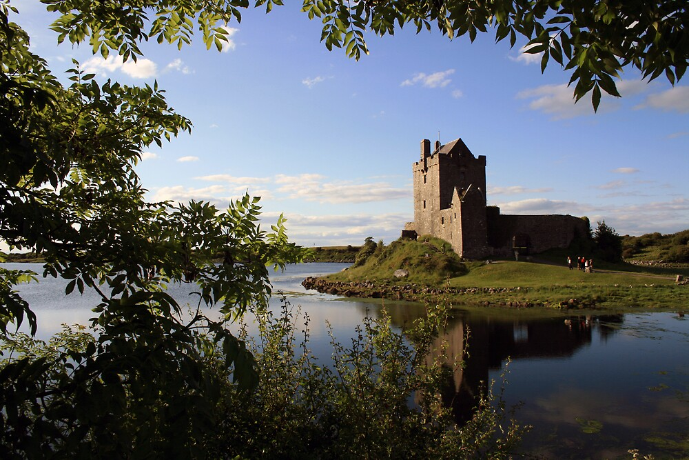 Summers eve at Dunguaire Castle by John Quinn
