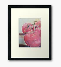 Jersey Tomatoes Framed Print