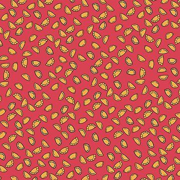 Empanadas - red/pink background by imgabsveras