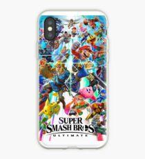 Super Smash Bros Ultimate - Poster iPhone Case