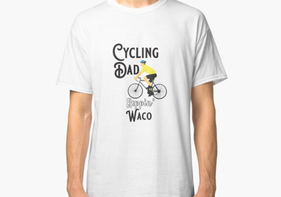 Cycling Dad Reppin' Waco