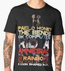 Radiohead albums Men's Premium T-Shirt