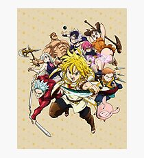 The Seven Deadly Sins Photographic Print