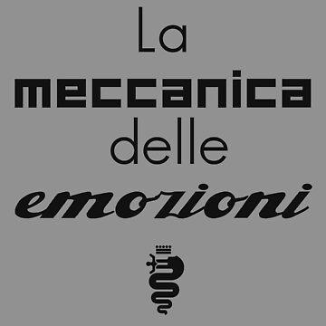 The meccanica delle emozioni (black) by JRLdesign