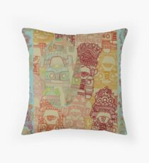 Truck Art - The Qalam Series Throw Pillow