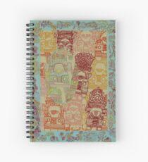 Truck Art - The Qalam Series Spiral Notebook