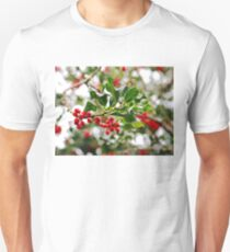 Holly in Winter Unisex T-Shirt