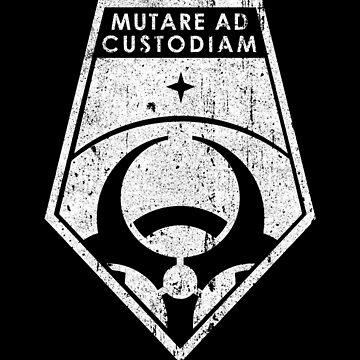 Mutare Ad Custodiam (Variant) by huckblade