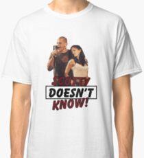 Eurotrip Scotty weiß es nicht! Classic T-Shirt
