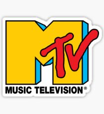 MTV Music Television Logo Sticker