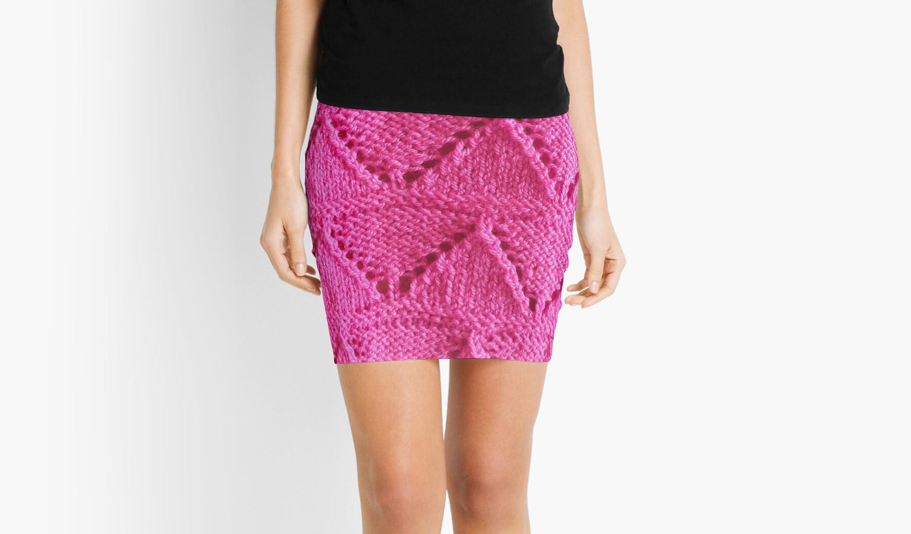 Knitting pattern. \