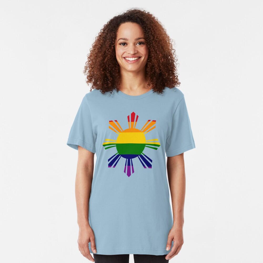 Pin*y Third Culture Series (Rainbow) Slim Fit T-Shirt