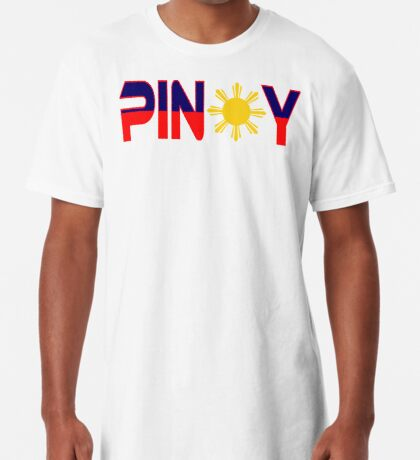 Pin*y Patriot Flag Series 1.0 Long T-Shirt