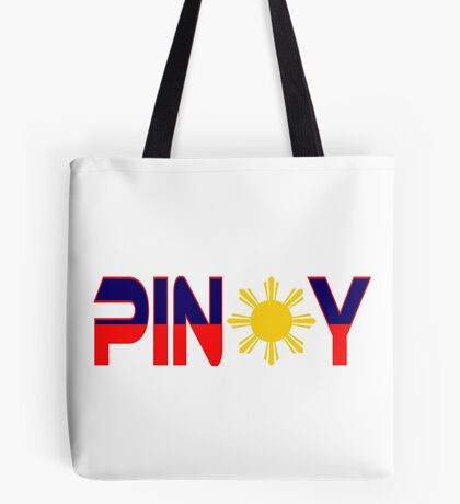 Pin*y Patriot Flag Series 1.0 Tote Bag