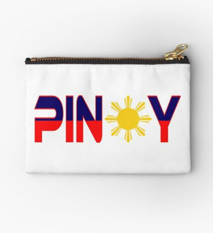 Pin*y Patriot Flag Series 1.0 Zipper Pouch