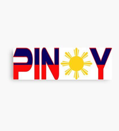 Pin*y Patriot Flag Series 1.0 Canvas Print