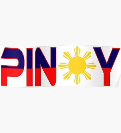Pin*y Patriot Flag Series 1.0 Poster