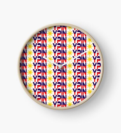 Pin*y Patriot Flag Series 1.0 Clock