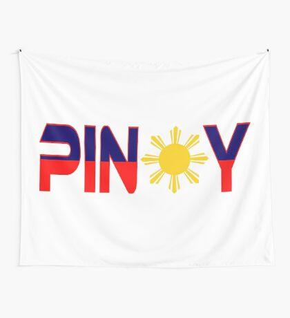 Pin*y Patriot Flag Series 1.0 Wall Tapestry