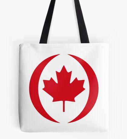 Canadian Patriot Flag Series 1.0 Tote Bag