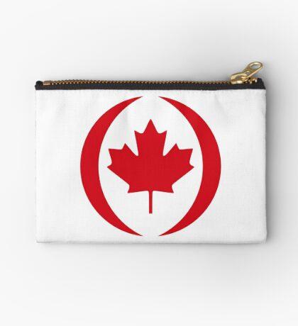 Canadian Patriot Flag Series 1.0 Zipper Pouch