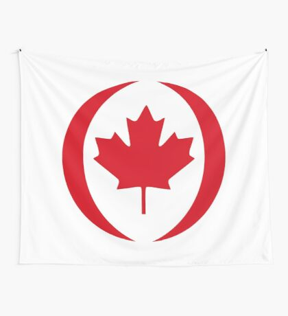Canadian Patriot Flag Series 1.0 Wall Tapestry