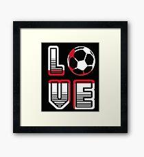 i Love England - Summer Fairy Tale 2018 - Football Framed Print