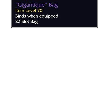 """""""Gigantique"""" Bag by snitts"""