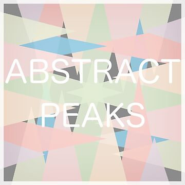 Abstract Peaks by happyTshirt