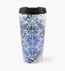 Metatron's Cube Travel Mug