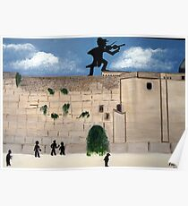 ART DEC  THE WESTERN WALL Poster