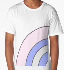 Pastel Rainbow Long T-Shirt