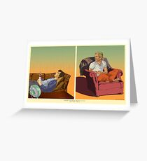 Baker Street: Double Wide  Greeting Card