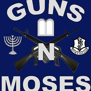 Guns 'n Moses for Dark Colors by Spacestuffplus